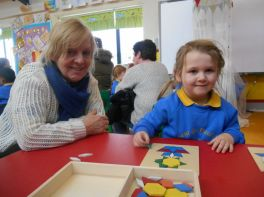 Grandparents Day in Nursery