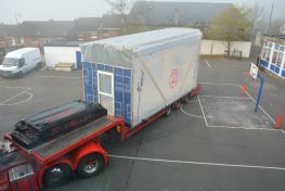 Mobile Classroom Arrives