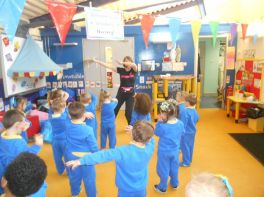 Jump Jiggle Jive Dance Sessions in Nursery
