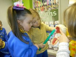 Dental Nurse Visits Nursery