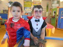 Nursery- Fancy Dress Halloween Party Day