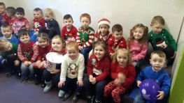 Jingle all the Way Day in Nursery