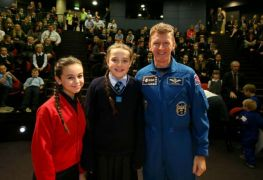 Pupils meet Tim Peake